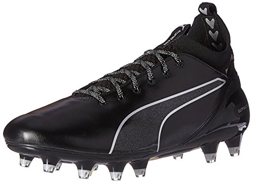 PUMA Mens Evotouch Pro FG Soccer Shoe Puma Black-puma Black-puma Silver IZbuS0CF