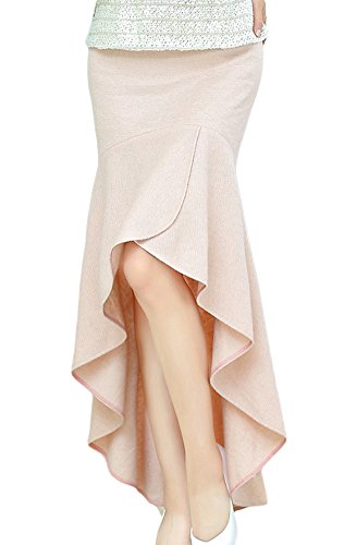 AvaCostume Womens Irregular Lotus Mermaid