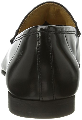 Marc O'Polo 70113873201102 Loafer, Mocasines para Mujer Blau (Black)