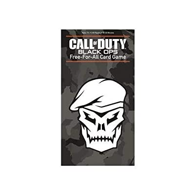 Call of Duty: Free-for-All Card Game -: Toys & Games