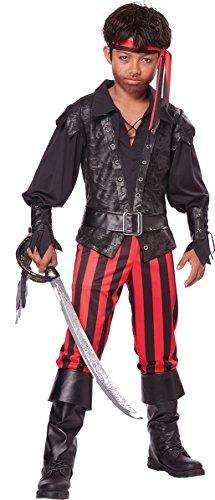 California Costumes Briny Buccaneer Costume, One Color, 8-10