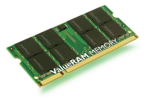 (Kingston ValueRAM Memory - 512 MB - SO DIMM 200-pin - DDR II (KVR667D2S5/512))
