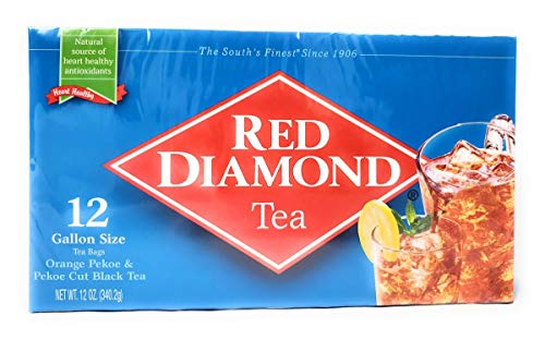 (Red Diamond All Natural Iced Tea Bags Gallon Size, 12 Count (1))