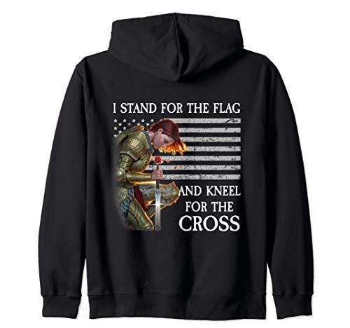 Cross Zip Hoodie -  Kneel For The Cross Zip Hoodie