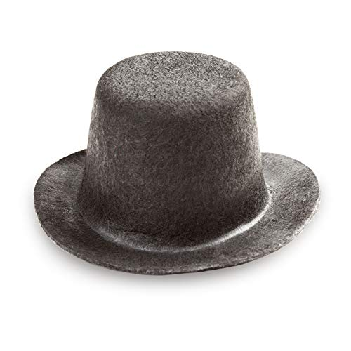 Darice Top Hat, 3.75-Inch, Black (12791)