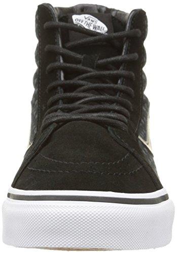 Dots Vans true Adulte White black wool Mixte Basses Baskets Sk8 Noir hi qqwBpSxC6