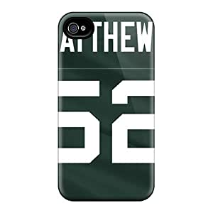 Green Bay Packers Case Compatible With Iphone 4/4s/ Hot Protection Case