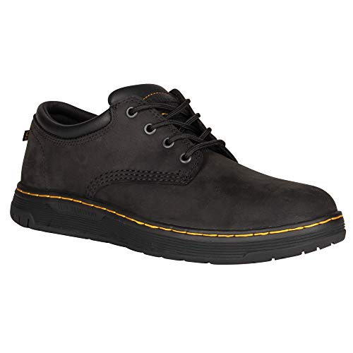 Dr. Martens - Men's Amwell SR Service Boots, Black, 9 US