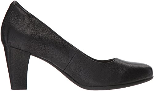 Hush Puppies New Ladies/Womens Black Minam Meaghan Slip ONS Shoes - Black - UK Sizes 3-9 CaGNh3Yk6