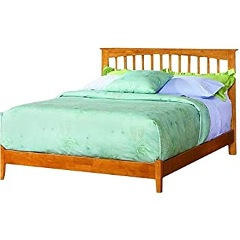 Amazon Com Leo Amp Lacey Platform Bed With Open Footrail In