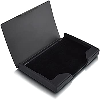Amazon maxgear professional business card holder free maxgear professional business card holder titanium stainless steel business card case for work reheart Image collections