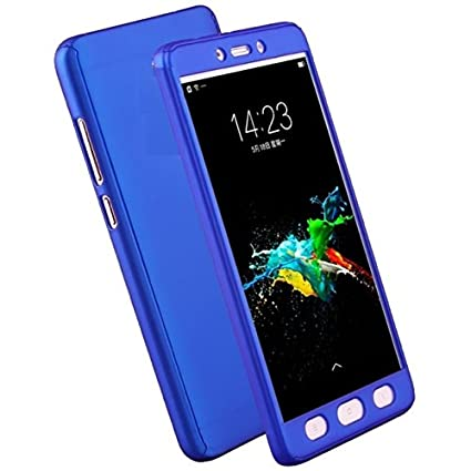 free shipping 0cf5d ba3ec Vivo Y21L 360 Degree Full Cover from Mercator - Blue: Amazon.in ...