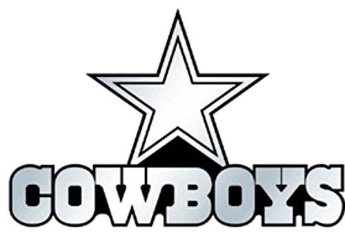 Dallas Cowboys NFL Silver Auto Emblem