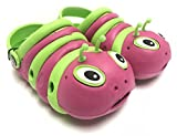 Fresko Toddlers Caterpillar Clogs Green/Pink 10