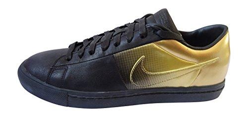 Nike Blazers Gold (NIKE Mens Blazer Low SP/Pedro Lourenco Black/Metallic Gold Leather Size 10.5 Athletic Sneakers)