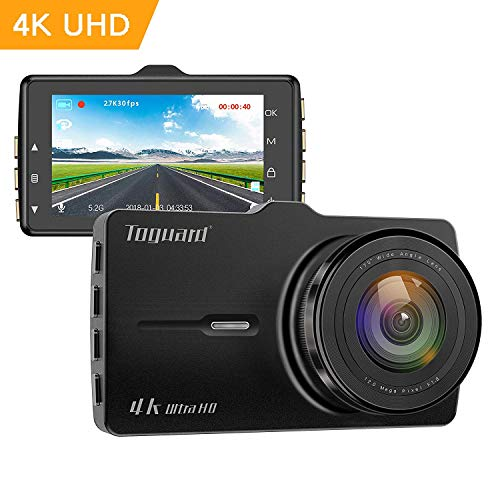- TOGUARD Dash cam 4K UHD Car Dash Camera 3'' LCD Dashboard Camera with 170°Wide Angle, Super Night Vision, Parking Mode, Motion Detection, Loop Recording