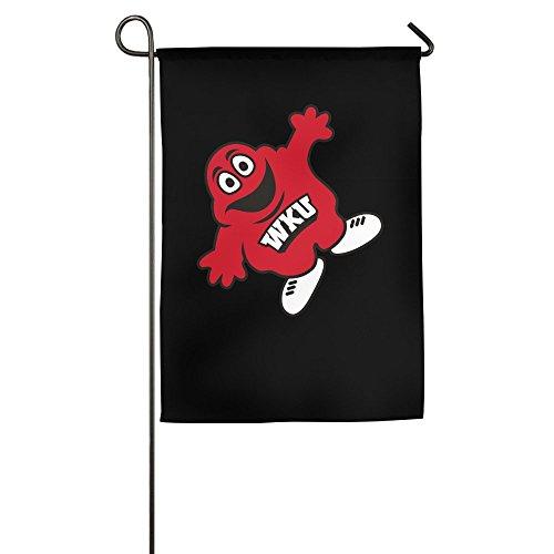 DEJML Fashion WKU Hilltoppers Football Garden Flag 1218inch]()