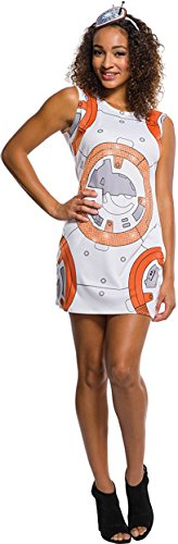 Rubie's Costume Co. Women's Adult Star Wars VII: the Force Awakens BB-8 Rhinestone Tank Dress, As/Shown, Small