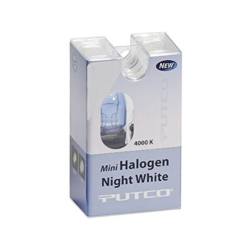 Putco 211921L Mini-Halogen Bulb - Night White - 921 (Pair) by Putco