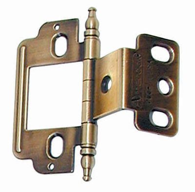 Amerock Full Inset Partial Wrap Free Swinging Minaret Tip Hinge For 3/4