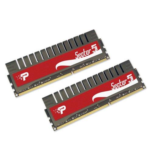 Patriot 'Sector 5' G Series 4GB (2 x 2GB) 240-Pin DDR3 PC3-12800 1600MHz CAS 9-9-9-24 Enhanced Latency Dual Channel Kit PGV34G1600ELK
