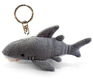 Puzzled Shark Plush Keychain