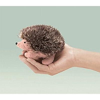 """Folkmanis Hedgehog Finger Puppet 5"""" - F1556 B65: Toys & Games"""