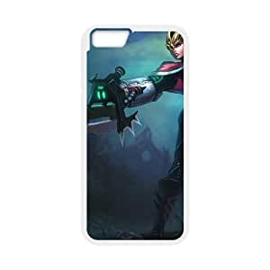 iPhone 6 4.7 Inch Cell Phone Case White League of Legends Crimson Elite Riven Vbpfz