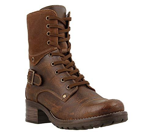 Taos Footwear Women's Crave Brown Boot 7-7.5 M US