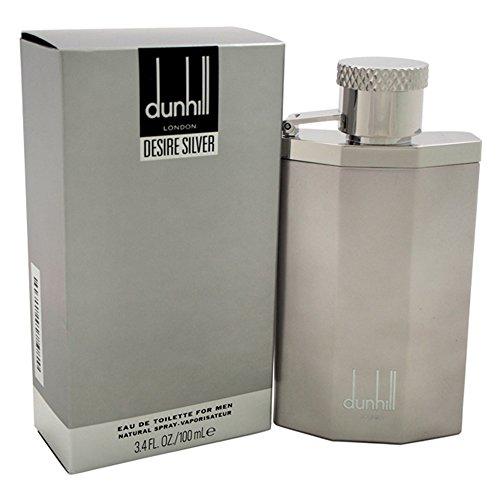 (Alfred Dunhill Desire Eau De Toilette Spray, Silver, 3.4 Ounce)