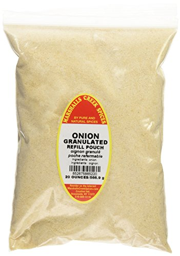 Marshalls Creek Spices Refill Pouch Granulated Onion Powder Seasoning, XL, 20 Ounce by Marshall's Creek Spices