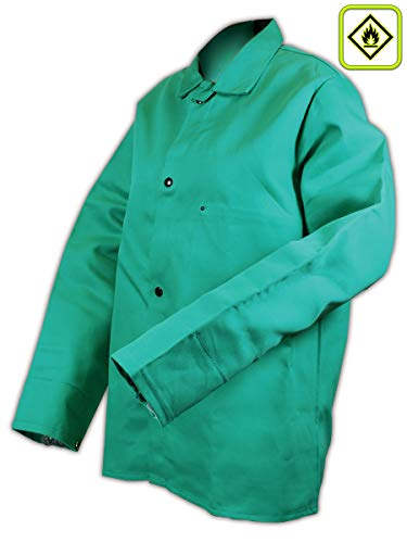 Magid 1834S SparkGuard Flame Resistant Cotton Standard Weight Jacket, 30