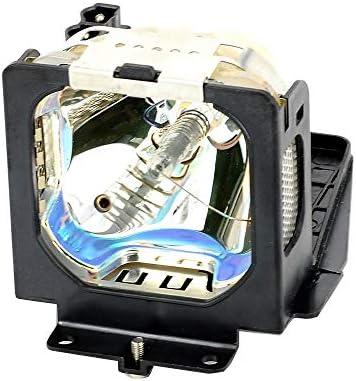 Jmolgoc 交換用 ランプ LMP55 プロジェクター用ランプユニット フレーム付 きのために適した (汎用)SANYO PLC-XL20/XT15KS/XT15KU/XU25/XU47/XU48/XU50/XU51/XU55/XU58; EIKI LC-XB15/LC-XB20/LC-XB21/LC-XB22/LC-XB25/LC-XB28/LC-XB30 に組み込み可