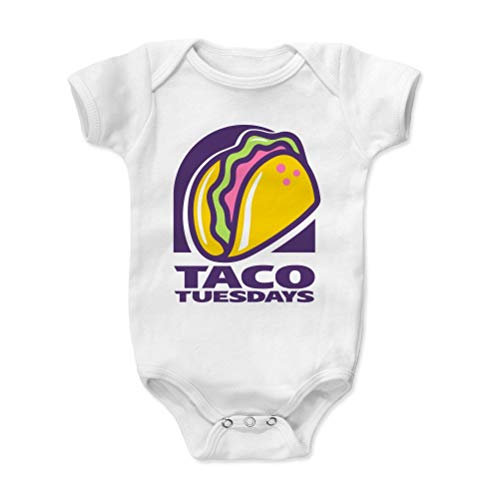 Bald Eagle Shirts Tacos Baby Clothes, Onesie, Creeper, Bodysuit - Taco Tuesdays (White, 3-6 Months) (09 Away Shirt)