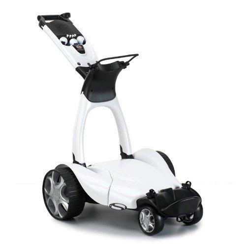 Stewart Golf X9 Follow Electric Golf Cart, White