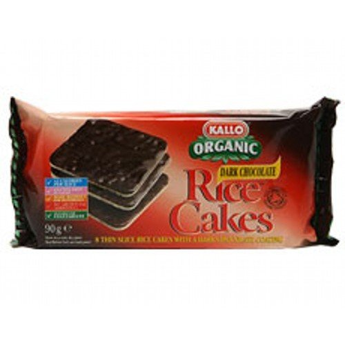 Organic Dark Chocolate Rice Cakes Thin Sliced - 90g