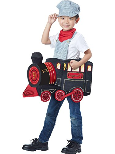 California Costumes All Aboard! Costume, Multi, Toddler (3-6) ()