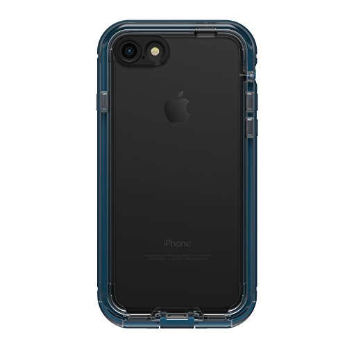 LifeProof NÜÜD SERIES Waterproof Case for iPhone 7 (ONLY) - Retail Packaging - MIDNIGHT INDIGO (INDIGO/BLAZER BLUE/CLEAR) (Nuud Iphone 5 Case)