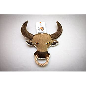 Pet Supplies : Tuff Mutt Rugged American Dog Toy, Bull