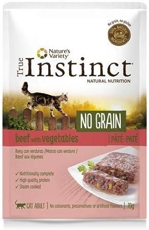 True Instinct - Comida húmeda para Gatos Adultos no Grain paté ...