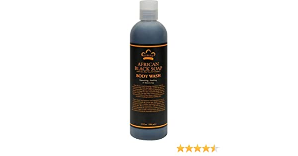 Amazon.com : Nubian Heritage Body Wash, African Black Soap, 13 Fluid Ounce : Beauty