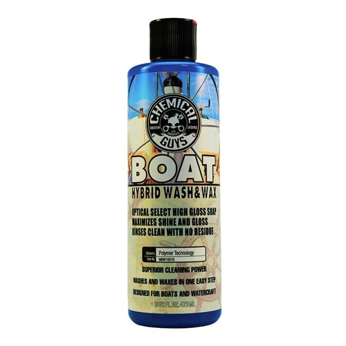 Chemical Guys MBW10016 Marine, Watercraft and Boat Hybrid Wash and Wax (16 oz)