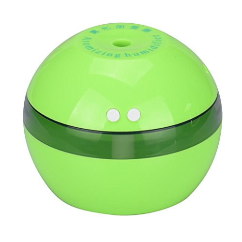 Winhurn Air Aroma Essential Oil Diffuser LED Ultrasonic Aroma Aromatherapy Humidifier (Green)