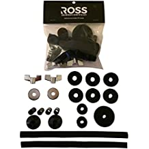ROSS Drummer's Survival Kit: Cymbal Felts, Sleeves, Washers, 8mm Wing Nuts, Snare Straps