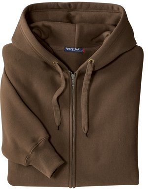 Amazon.com: Upscale Super Heavyweight Full Zip Hoody Hoodie Hooded ...