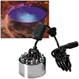 Haunted Halloween Mist Maker with Lights - Smoky Fog Special Effects