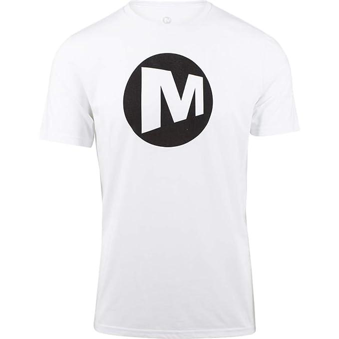 Merrell Logo Tee Men M - White  76d052f1417