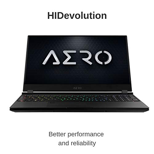 Compare HIDevolution Gigabyte AERO 15 OLED SA-7US5130SH (A15-SA-7US5130SH-HID2) vs other laptops