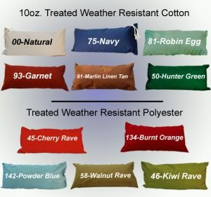 Deluxe Comfort Hammock Pillow Color: Hunter Green - Deluxe Hammock Pillow