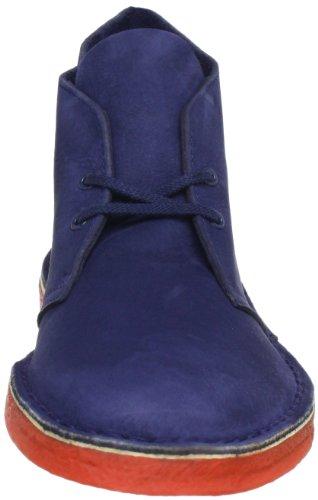 Clarks Desert Boot6 20353845, Stivaletti uomo Blu (Navy Nubuck)